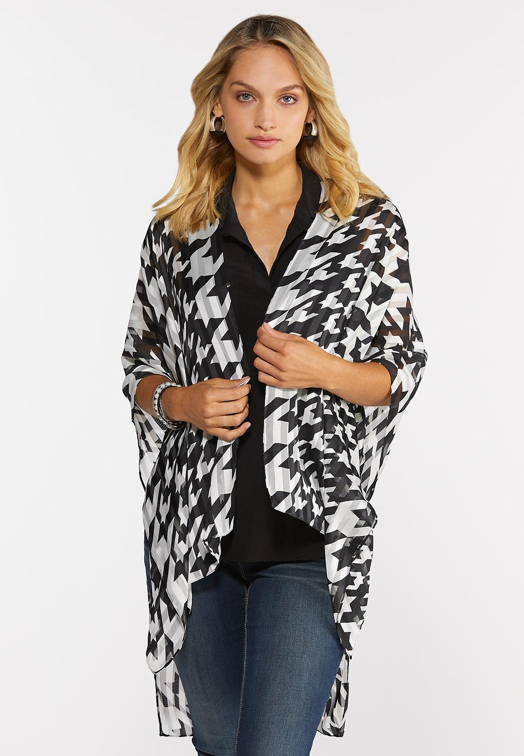 Houndstooth Kimono