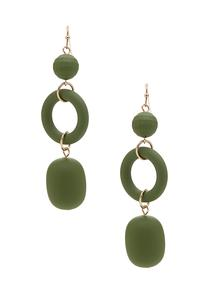 Rubber Coated Earrings