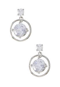 Orbital Rhinestone Earrings