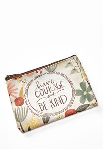 Have Courage Pouch