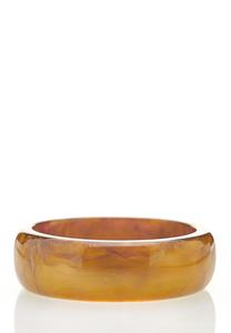 XL Gold Resin Bangle Bracelet
