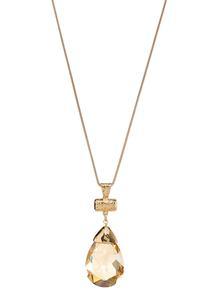 Tear Stone Pendant Necklace