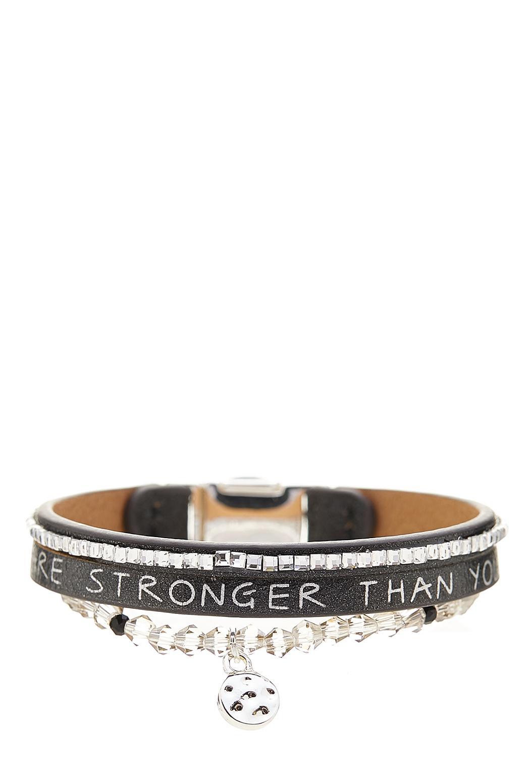 Stronger Than You Think Bracelet