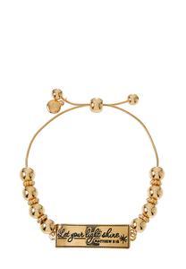 Let Your Light Shine Pull-String Bracelet