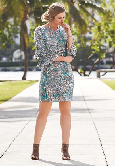 Paisley, Pleats And Playfully Chic