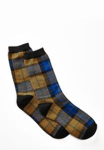 Plaid Socks