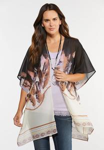 Feather Kimono