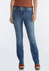 Shape Enhancing Curvy Bootcut Jeans