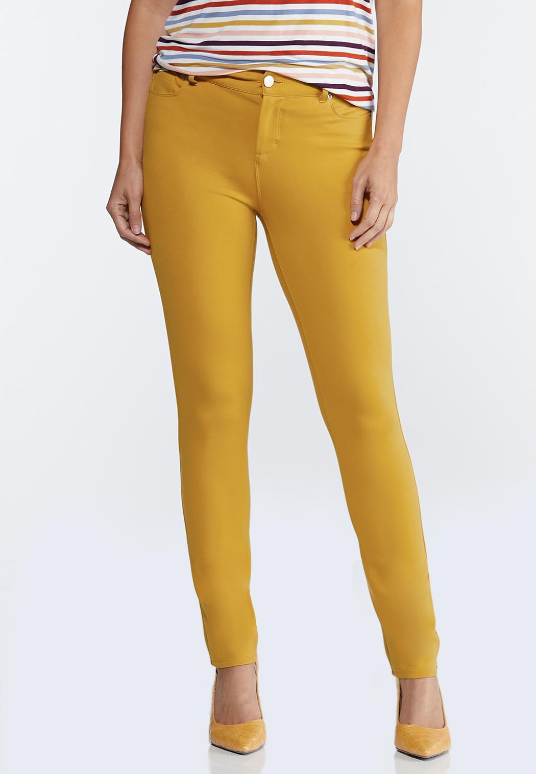 Skinny 5-Pocket Ponte Pants
