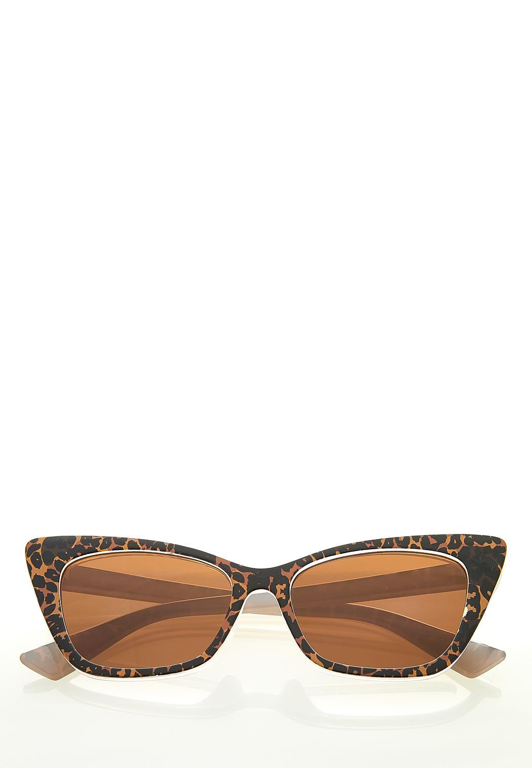 Leopard Cateye Sunglasses