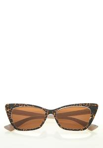 Leopard Cateye Sunglasses