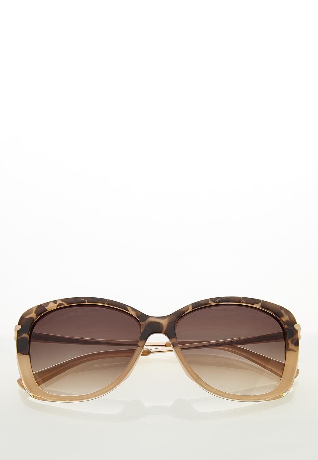 Blush Leopard Tortoise Sunglasses