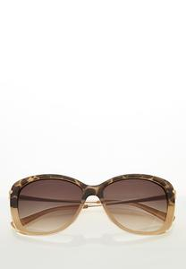 Blush Leopard Tortoise Sunglasses