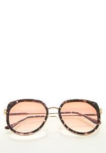 Tortoise Trim Sunglasses