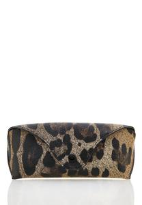 Cheetah Sunglasses Case