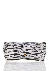 Zebra Sunglasses Case