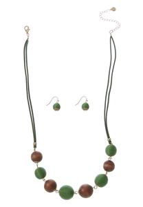 Wooden Bead Set