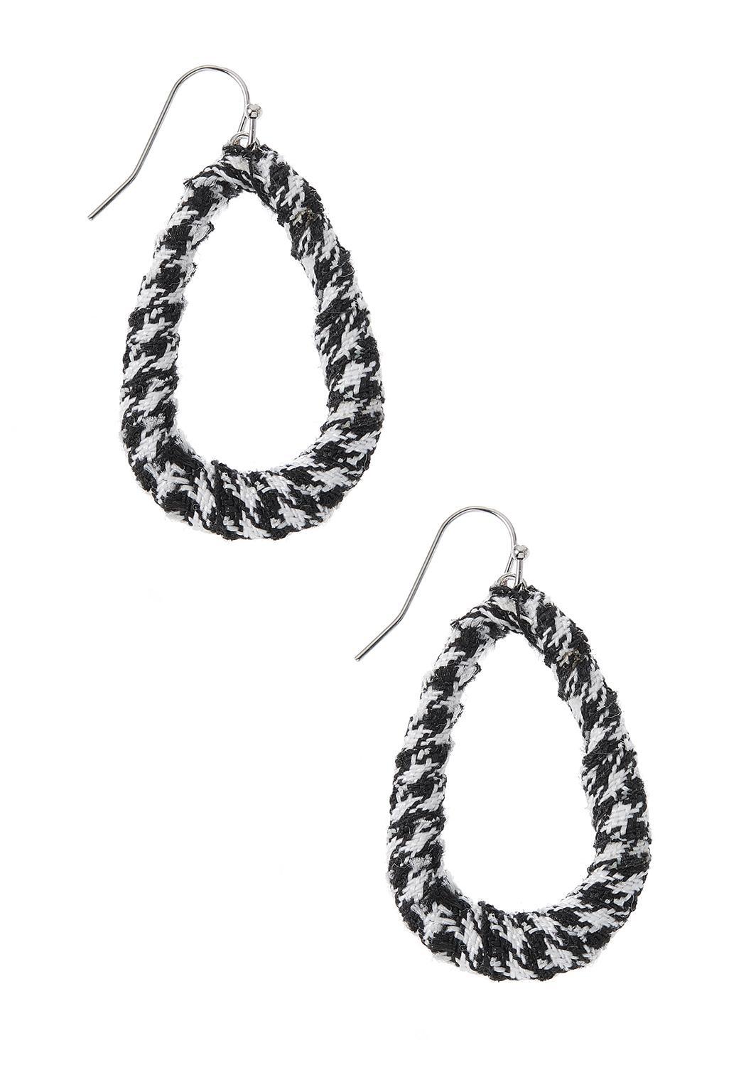Houndstooth Earrings