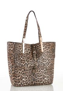 Animal Print 2 In 1 Bag