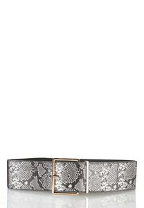 Plus Size Statement Snake Belt
