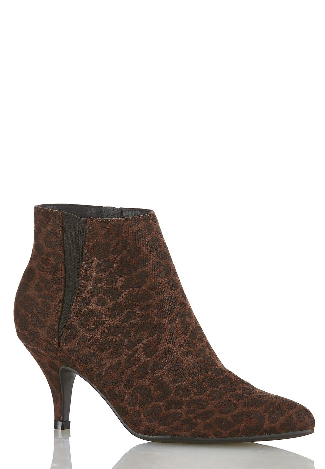 Leopard Stretch Gore Booties