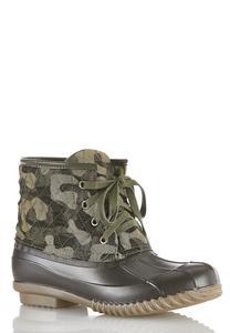 Camo Duck Boot