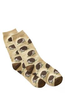 Porcupine Crew Socks