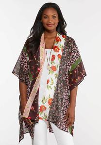 Floral Patchwork Kimono