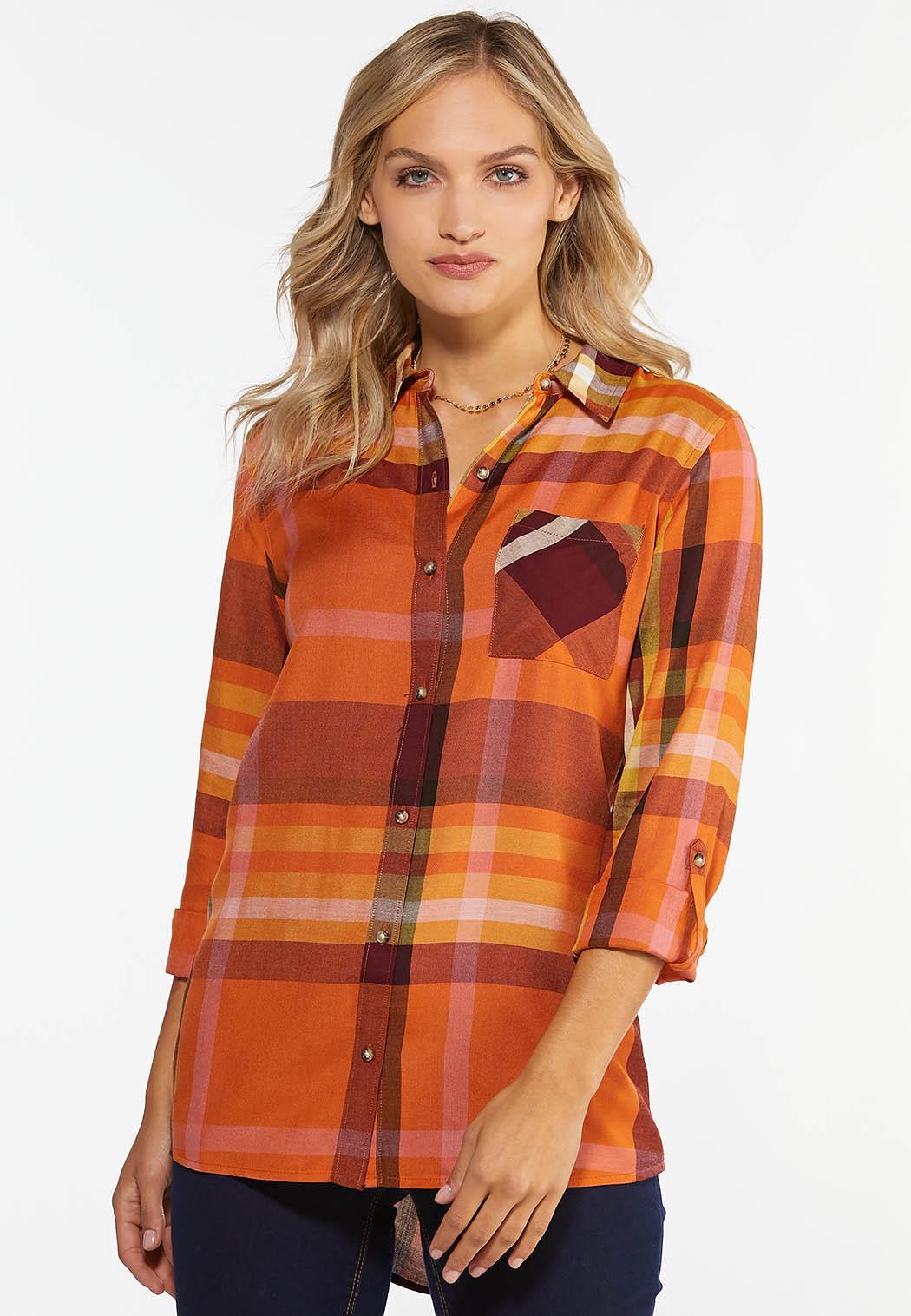 Mango Plaid Shirt
