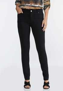 Petite Colored Ponte Pants