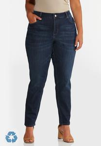Plus Size Dark Wash Skinny Jeans