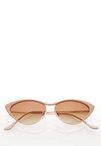 Nude Cateye Sunglasses