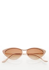Nude Cateye Sunglasses
