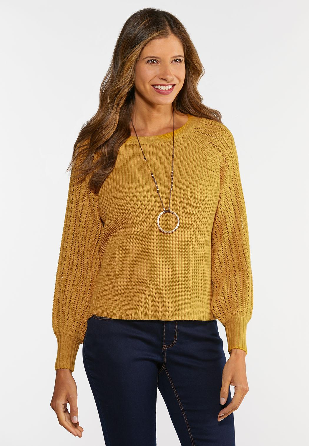 Plus Size Honey Pullover Sweater