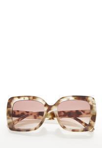 Oversized Tort Sunglasses