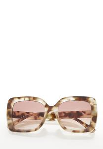 Oversized Tort Sunglasses