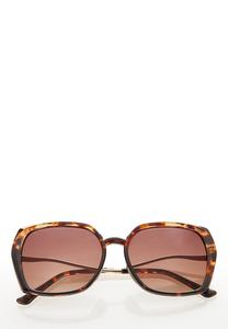 Tort Trim Sunglasses
