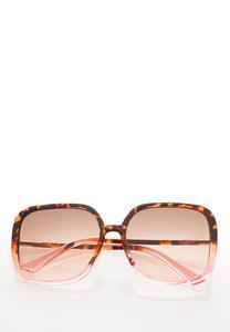 Square Lucite Sunglasses