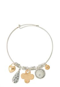 Dream Charm Bangle Bracelet