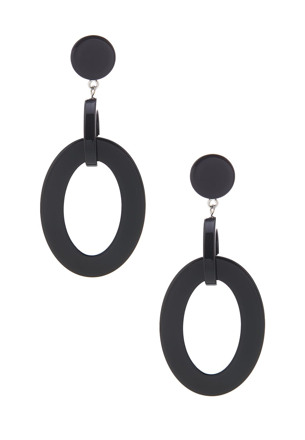Oval Resin Earrings
