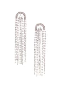 Raining Rhinestone Earrings