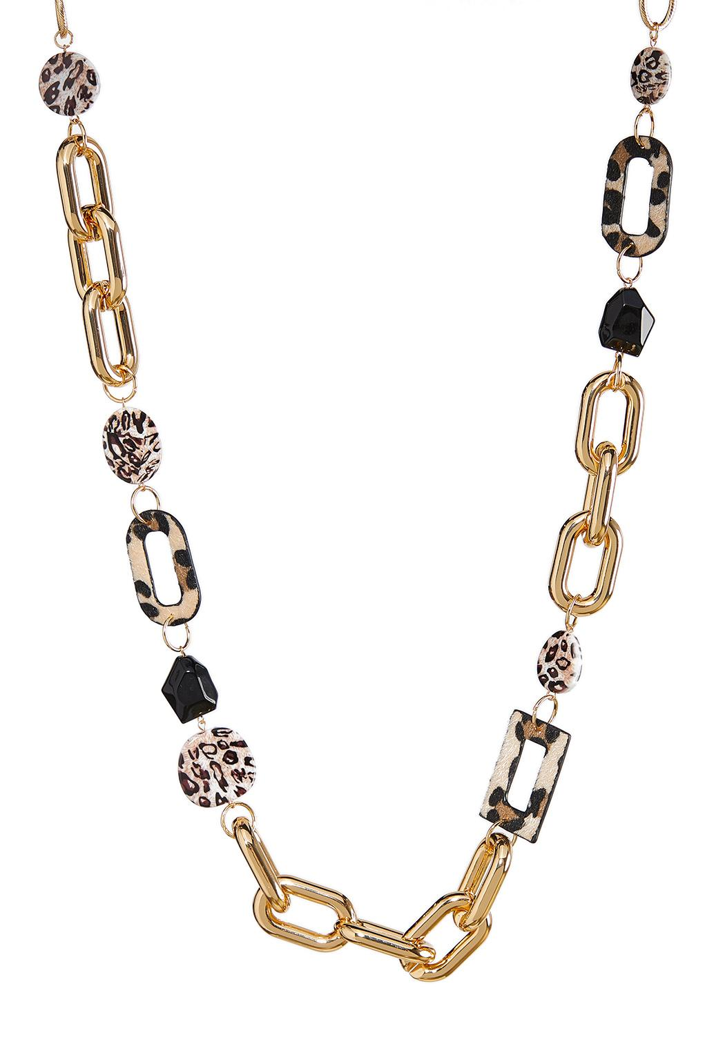 Mixed Animal Link Chain Necklace
