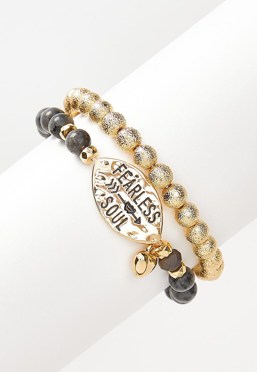Fearless Soul Stretch Bracelet