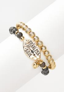 Fearless Soul Stretch Bracelet