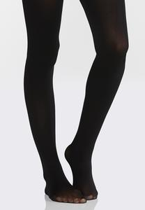 Solid Opaque Tights
