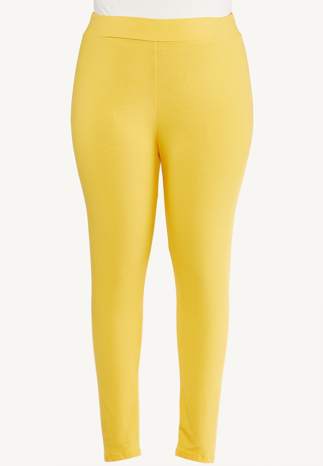 Plus Size Casual Knit Leggings