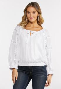 White Poet Top