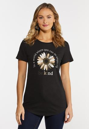 Be Kind Flower Tee
