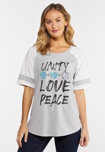 Plus Size Unity Graphic Tee
