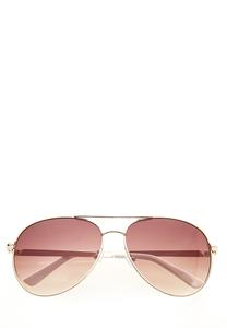 White Enamel Sunglasses